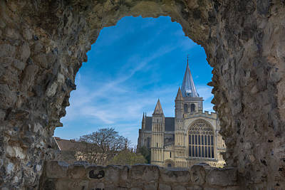 Photograph - Rochester Cathedral by Jonah Anderson