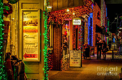 Photograph - Rochester Lights 2 by Ronald Grogan