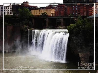 Nirvana - Rochester NY High Falls by Rose Santuci-Sofranko