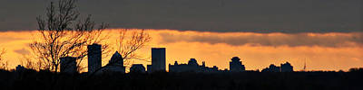 Photograph - Rochester Skyline by Richard Engelbrecht