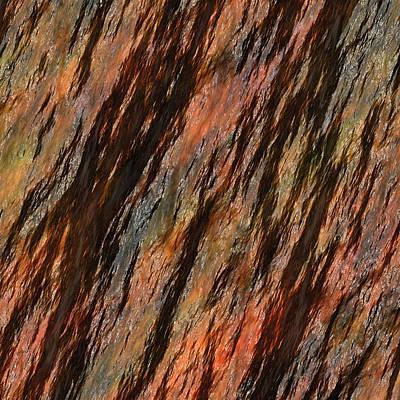 Zazzle Photograph - Rock Abstract 04 by Georgiana Romanovna
