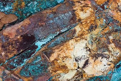 Photograph - Rock Abstract by Chris Scroggins