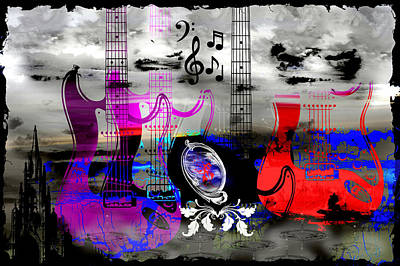 Digital Art - Rock And Roll Fantasy by Michael Damiani