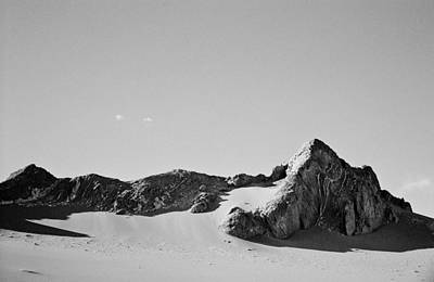 Art Print featuring the photograph Rock And Sand by Lana Enderle