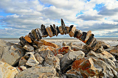 Photograph - Rock Arch by John Collins