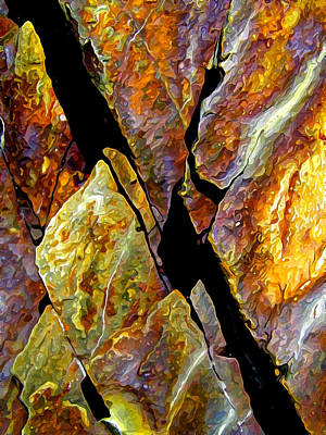 Photograph - Rock Art 17 by ABeautifulSky Photography by Bill Caldwell