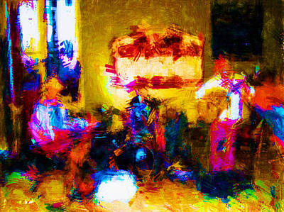 Photograph - Rock Band by Gary De Capua