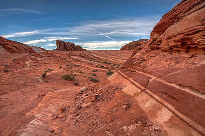 Valley Of Fire Wall Art - Photograph - Rock Bands by Peter Tellone