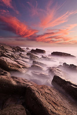 Waterscape Photograph - Rock Caos by Jorge Maia
