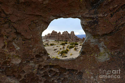 Photograph - Rock City Bolivia by Bob Christopher