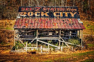 Rock City Art Print by Debra and Dave Vanderlaan