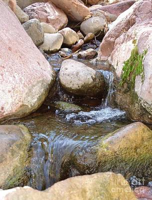 Photograph - Rock Creek by Kerri Mortenson