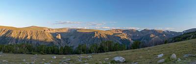 Absaroka Photograph - Rock Creek Valley Towards Beartooth by Panoramic Images