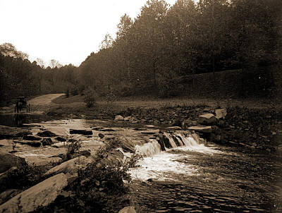 Rock Creek, Zoo Park National Zoological Park Art Print by Litz Collection