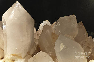 Rock Crystals Print by Heiko Koehrer-Wagner
