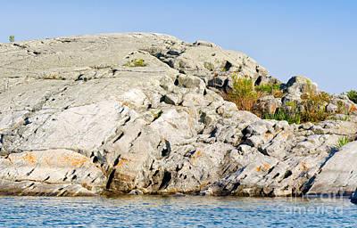 Truck Art - Rock erosion by Les Palenik