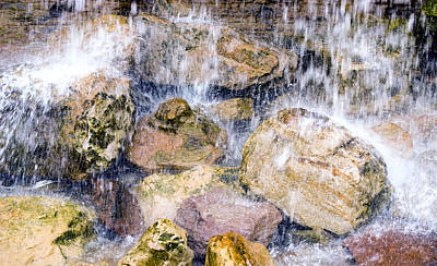 Photograph - Rock Falls by Mick House