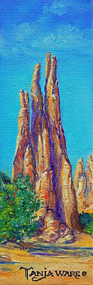 Painting - Rock Fingers by Tanja Ware