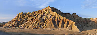Navarre Photograph - Rock Formation Bardenas Reales Navarra by Albert Lleal
