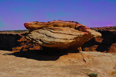 Photograph - Rock Formation In Canyon De Chelly by Dany Lison