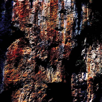 Photograph - Rock Formation Of Three Gorges - Square by Jacqueline M Lewis