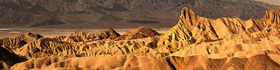 Amargosa Photograph - Rock Formation On A Landscape by Panoramic Images