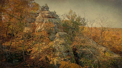 Photograph - Rock Formation by Sandy Keeton