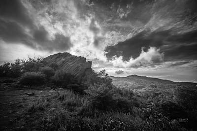 Photograph - Rock Formation by Steven Llorca