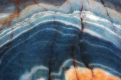 Photograph - Rock Formation Vi by Patrick Boening