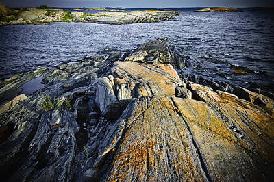 Photograph - Rock Formation Viii by Patrick Boening