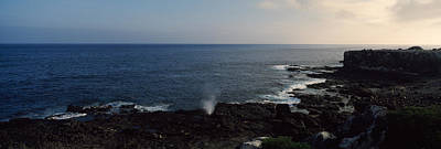 Galapagos Photograph - Rock Formations At The Coast, Punta by Panoramic Images