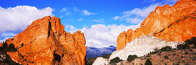 Garden Of The Gods Photograph - Rock Formations, Garden Of The Gods by Panoramic Images