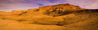 Staircase Scenes Photograph - Rock Formations In A Desert, Grand by Panoramic Images