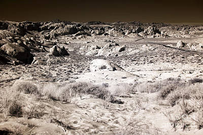 Photograph - Rock Formations In The Desert by John Rizzuto