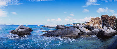 The Baths Photograph - Rock Formations In The Sea, The Baths by Panoramic Images