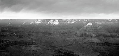 Rock Formations On A Landscape, Hopi Art Print by Panoramic Images