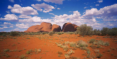 Kata Photograph - Rock Formations On A Landscape, Olgas by Panoramic Images