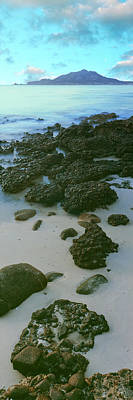 Rock Formations On The Beach, Sea Art Print