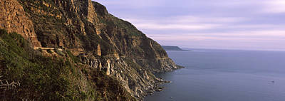 Featured Images Photograph - Rock Formations On The Coast, Mt by Panoramic Images