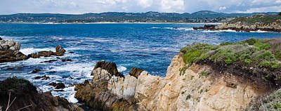 Point Lobos Photograph - Rock Formations On The Coast, Point by Panoramic Images