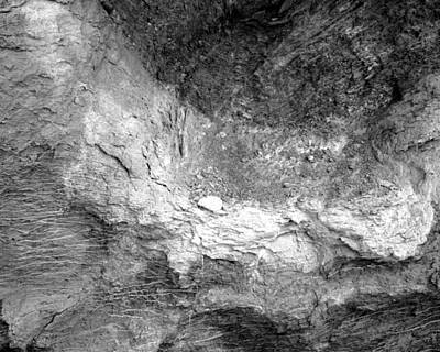 Rock Grain Art Print
