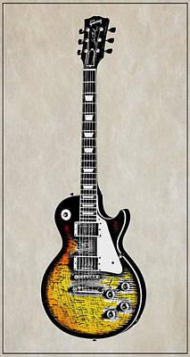Guitar Player Digital Art - Rock Guitar by Daniel Hagerman