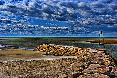 Photograph - Rock Harbor Jetty by Bill Barber