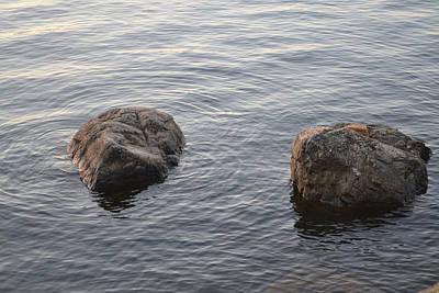 Photograph - Rock Heads by RD Erickson