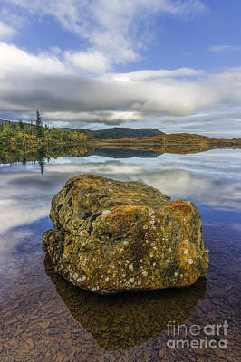 Photograph - Rock Lake by Ian Mitchell