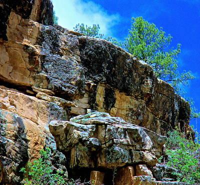 Photograph - Rock Ledge Piedra River by Jeff Gater