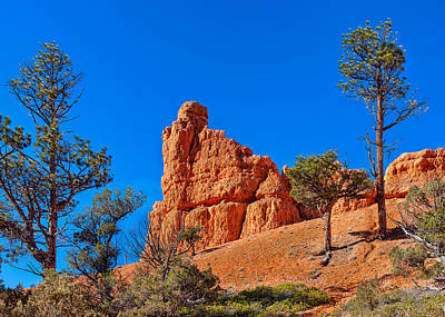 Camping Photograph - Rock Of Ages -- Red Canyon State Park by John M Bailey