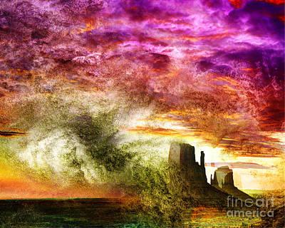 Digital Art - Rock Of Ages by Edmund Nagele