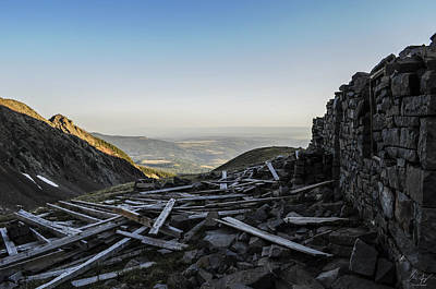 Photograph - Rock Of Ages Ruins by Aaron Spong