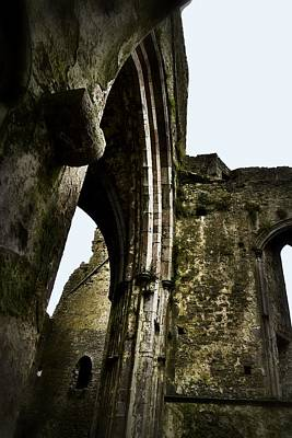 Photograph - Arches And Stone Walls - Rock Of Cashel by Nadalyn Larsen